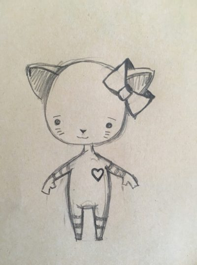 Kitten_Heart_Pencil