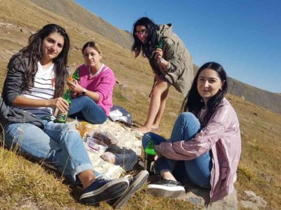 Digistep in Aragats